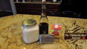 Ingredients for Cinnamon Roll Icing